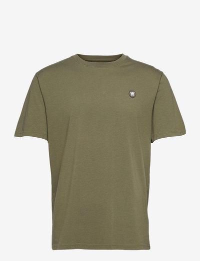 Ace T-shirt - basic t-shirts - slate grey/green