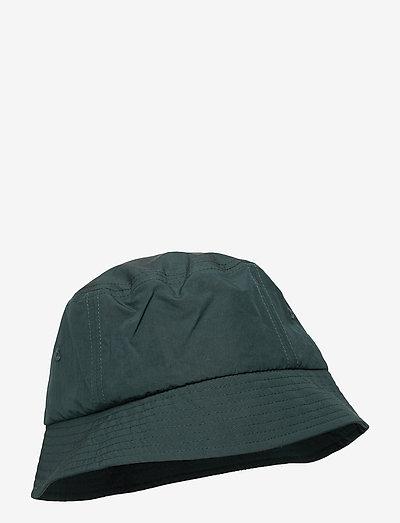 Nylon bucket hat - bucket hats - dark green