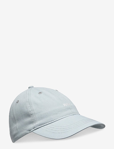 Low profile twill cap - huer & kasketter - light blue