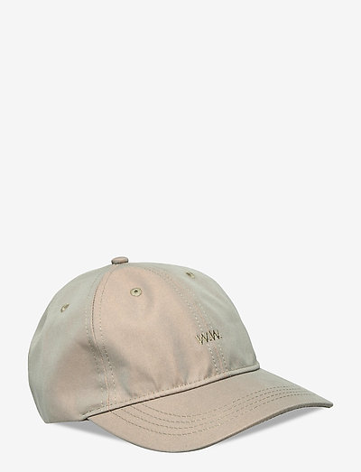 Iridescent low profile cap - bonnets & casquettes - olive