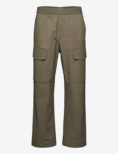 Halsey tech trousers - cargobroek - dusty green