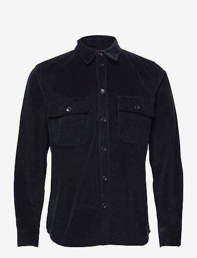 Andrew 12w shirt - oxford-skjorter - navy