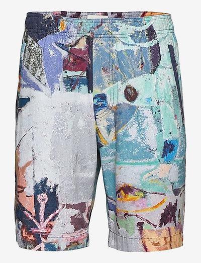 Alfred Jon Pilkington shorts - short décontracté - multicolor