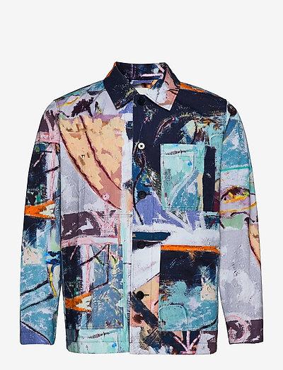 Fabian Jon Pilkington overshirt - kleding - multicolor