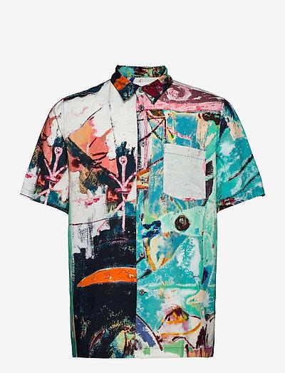 Thor Jon Pilkington Shirt - linneskjortor - multicolor