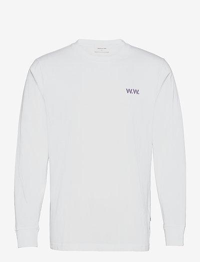 Mark Jon Pilkington long sleeve - basic t-shirts - white