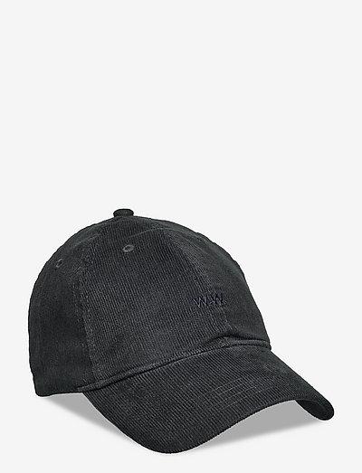 Low profile corduroy cap - mössor & kepsar - navy