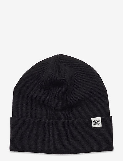 Gerald tall beanie - czapki i kapelusze - black