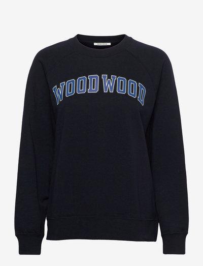 Hope IVY sweatshirt - sweatshirts & hættetrøjer - navy