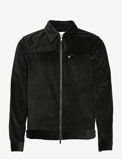 Eban 8w zip shirt - spijkerjassen - dark emerald