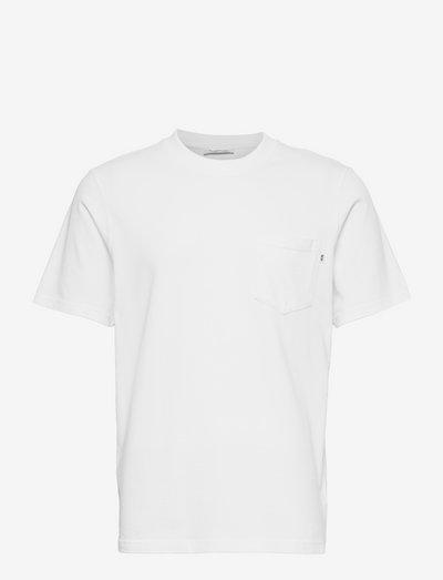 Bobby pocket T-shirt - basic t-shirts - white