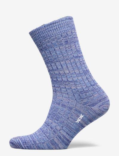 Maddie twist socks - almindelige strømper - powder blue