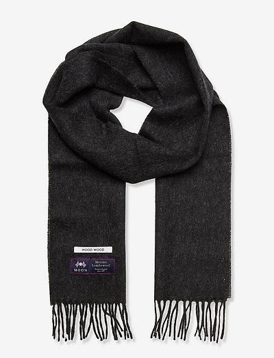 Karlo solid scarf - uutuudet - charcoal melange