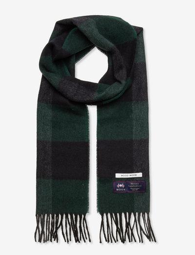 Karlo check scarf - uutuudet - dark emerald check