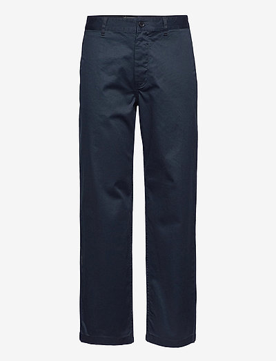 Stefan classic trousers - chinos - black