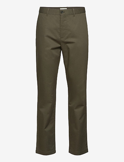 Marcus light twill trousers - chino's - olive