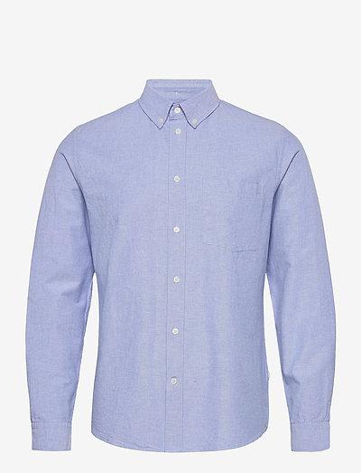 Adam oxford shirt - linneskjortor - light blue