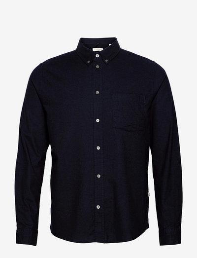 Adam classic flannel shirt - chemises oxford use default - navy