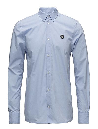 Kay Shirt Hemd Blau WOOD WOOD