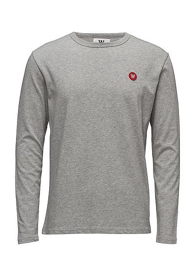 Mel Long Sleeve T-Langärmliges Hemd Grau WOOD WOOD