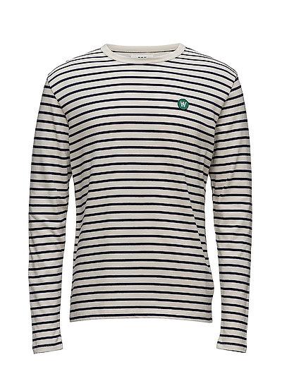 Mel Long Sleeve T-Langärmliges Hemd Bunt/gemustert WOOD WOOD