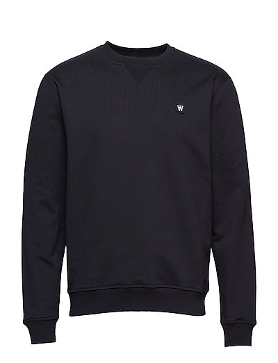 Tye Sweatshirt Sweat-shirt Pullover Schwarz WOOD WOOD