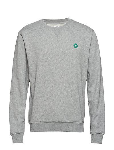 Tye Sweatshirt Sweat-shirt Pullover Grau WOOD WOOD