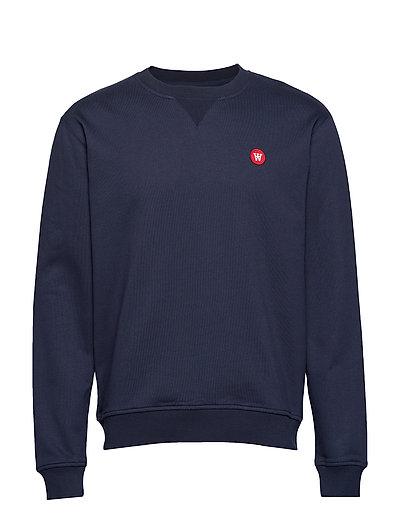 Tye Sweatshirt Sweat-shirt Pullover Blau WOOD WOOD