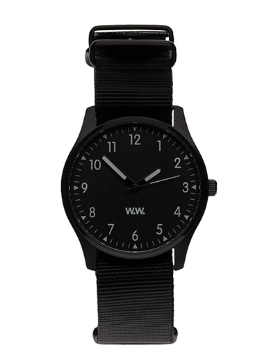 WW watch - BLACK