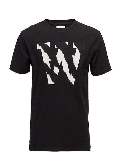 AA two tones T-shirt - BLACK