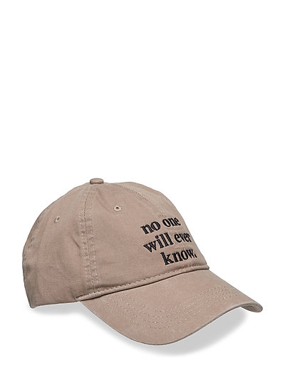 Low profile cap - STONE
