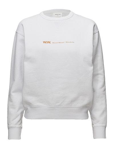 Flora sweatshirt - BRIGHT WHITE