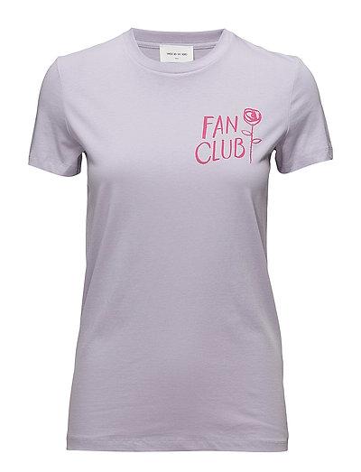 Eden T-shirt - LIGHT PURPLE