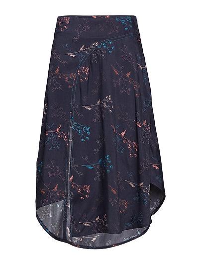 Gertrude Skirt Knielanges Kleid Blau WOOD WOOD | WOOD WOOD SALE
