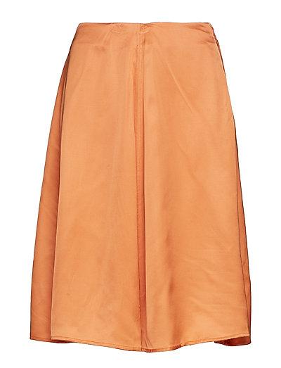 Rosemary Skirt Knielanges Kleid Orange WOOD WOOD | WOOD WOOD SALE