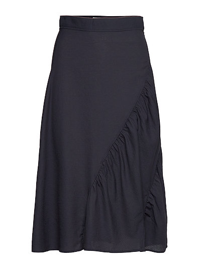 Polina Skirt Knielanges Kleid Blau WOOD WOOD | WOOD WOOD SALE