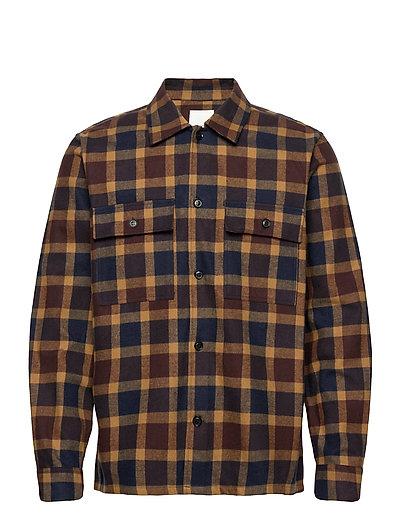 Franco Shirt Overshirts Blau WOOD WOOD