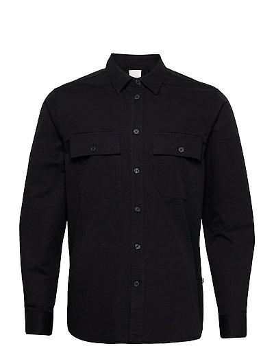 Avenir Shirt Overshirts Schwarz WOOD WOOD