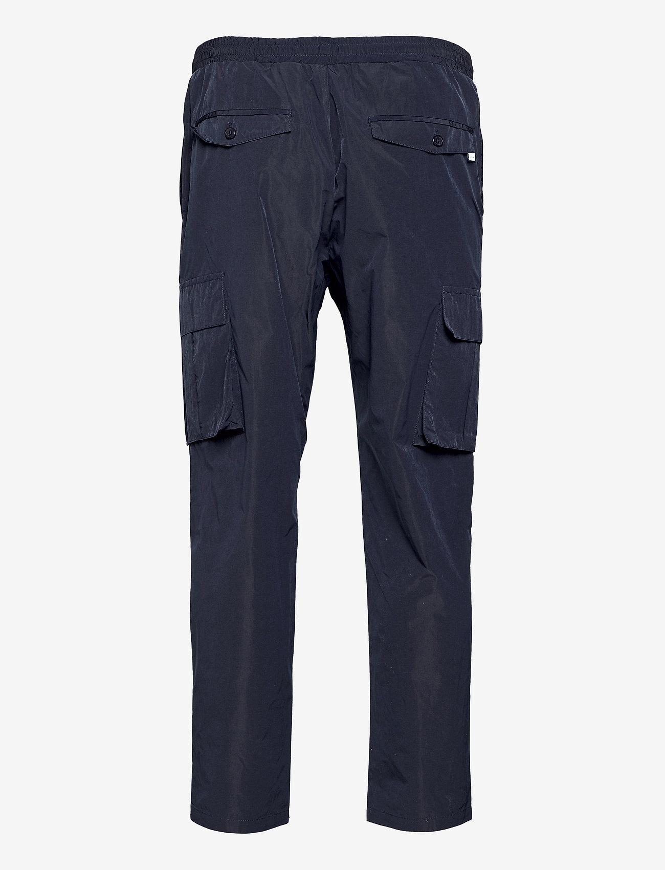 Woodbird - Cargo Crisp Pants - cargobukser - navy - 1