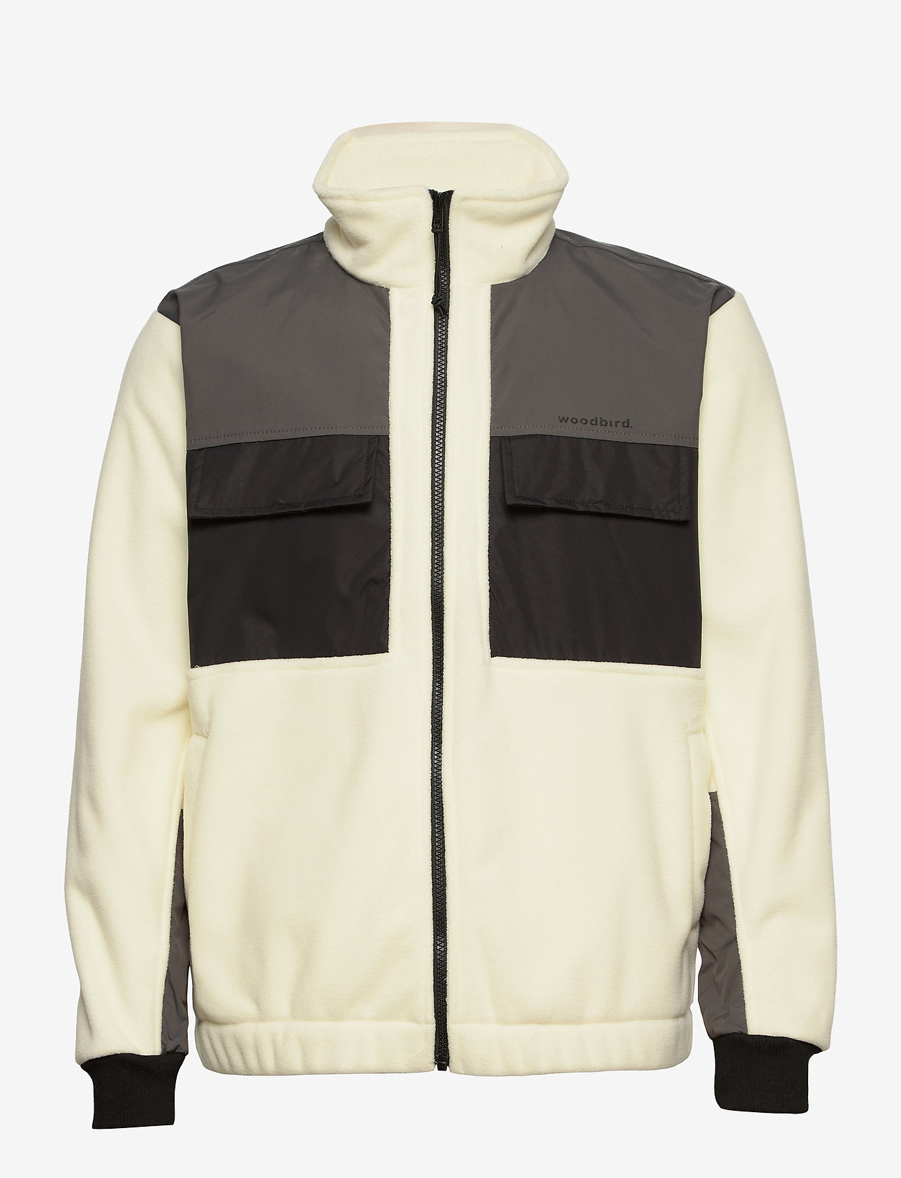 Woodbird - Strukt Zip Fleece - basic-sweatshirts - kit - 0