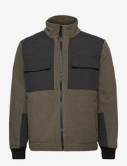 Woodbird - Strukt Zip Fleece - fleece - army green - 1