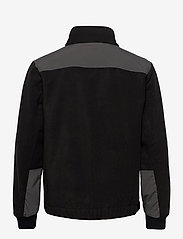 Woodbird - Strukt Zip Fleece - podstawowe bluzy - black - 2