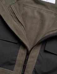 Woodbird - Strukt Zip Fleece - fleece - army green - 5