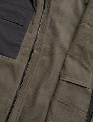 Woodbird - Strukt Zip Fleece - fleece - army green - 7