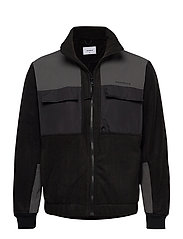 Strukt Zip Fleece - BLACK