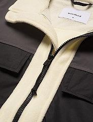 Woodbird - Strukt Zip Fleece - basic-sweatshirts - kit - 2