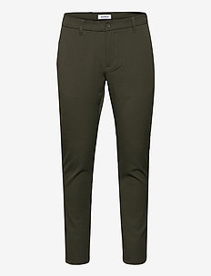 Steffen Twill Pant - casual trousers - army