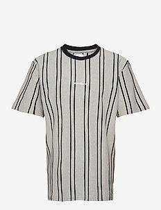 Craz Soccer Tee - kortærmede skjorter - light grey