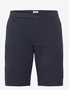 Steffen Melange Shorts - chinos shorts - navy melange