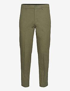 Tien Stop Pants - suit trousers - army